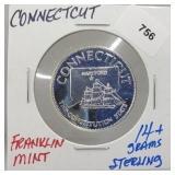 Franklin Mint Connecticut Round