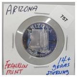 Franklin Mint Arizona Round