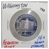 Franklin Mint Washington Round