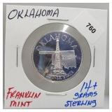 Franklin Mint Oklahoma Round