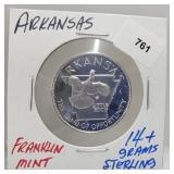 Franklin Mint Arkansas Round