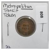 Metropolitan Transit Token