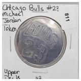 Chicago Bulls #23 Michael Jordan Token