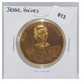 1966 Jesse Haines Busch Stadium Immortals Token