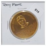 1966 Terry Moore Busch Stadium Immortals Token