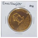 1966 Enos Slaughter Busch Stadium Immortals Token