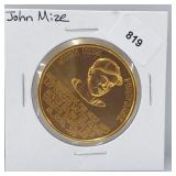 1966 John Mize Busch Stadium Immortals Token