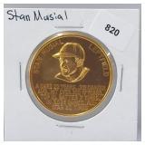 1966 Stan Musial Busch Stadium Immortals Token