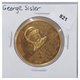 1966 George Sisler Busch Stadium Immortals Token