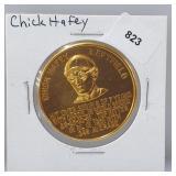 1966 Chick Haffey Busch Stadium Immortals Token