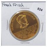 1966 Frank Fisch Busch Stadium Immortals Token