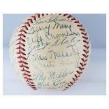 1952 STL Cardinals Team Signed Baseball W/ Musial