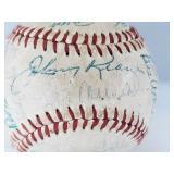 1962 STL Cardinals Team Signed Baseball W/ Musial