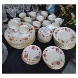 Royal Crown Derby china 89 pieces