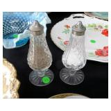 Pair Waterford Salt and Pepper Shakers