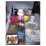 Misc. Boxes- Plates, Wood Decorations & Much more