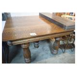 Tiger Oak Dinning Room Table