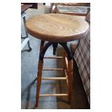 Wood & Metal Stool