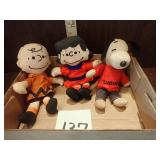 Charlie Brown Cloth Dolls