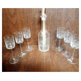 Toscany Decanter Set