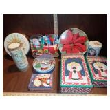 Misc. Holiday Tins