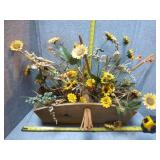 Flower Arrangement & Bird House