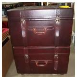 Suit Case Look Filling Cabinet