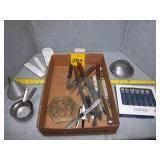 Seafood Forks, Knifes, Measuring Spoons & more