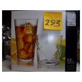 12 pc. Glasses-New