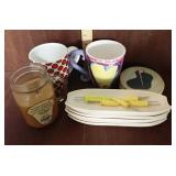 Candle, Corn Holders, Coffee Mugs, Coasters