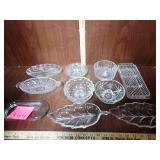 Clear Glass Serving Dishes & Bowls