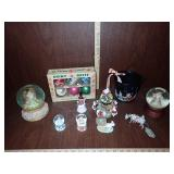 Christmas Snow Globes, & Ornaments