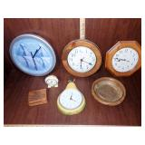 Assorted Wall Clocks