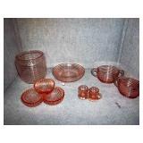 Pink Depression Glassware
