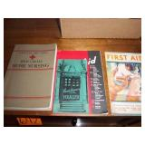 Old First Aid Books, Baby Book, WIL Buyers Gulde