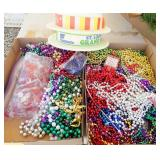 Mardi Gras Beads & Foam Hats