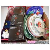 Serving Plates, Candle Holders & Decorations