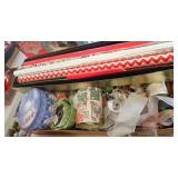 Wrapping Paper, Boxes, Ribbon