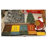 Wood Christmas Decorations & more