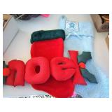 Christmas Wall Hangings & Stockings