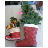 Santa Boot Decorations