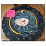 Christmas Plate & Decorations