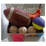 Footballs & Baseballs