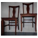 2 - Kitchen Chairs