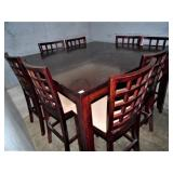 Pub Table w/8 Chairs