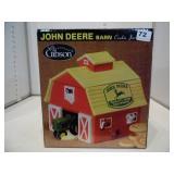 John Deere Barn Cookie Jar