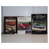 Muscle, Camero & Camero Books