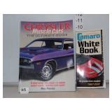 Chrysler Muscle Car Book & Camero White Book