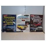 GM ID Number Books