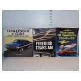 Assorted Muscle Car Books